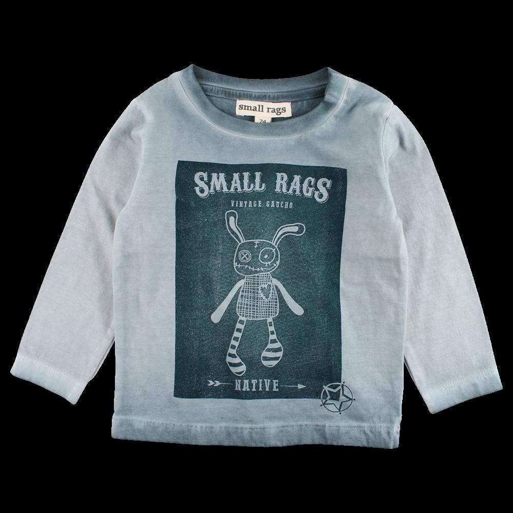 42952b6f6fef SMALL RAGS HUBERT -LANGÆRMET T-SHIRT - GRØN