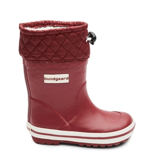 BUNDGAARD SAILOR RUBBER BOOT WARM - BORDEAUX