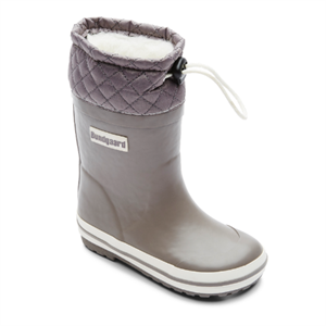 BUNDGAARD SAILOR RUBBER BOOT WARM - GREY