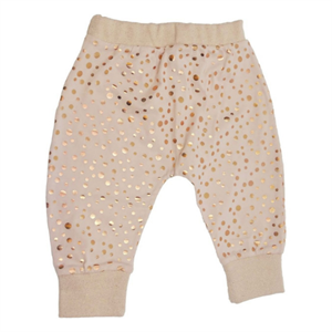MINIPOP PANTS GOLD DOT