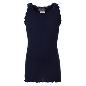 ROSEMUNDE BLONDE TOP - NAVY