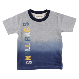 SMALL RAGS T-SHIRT -GRÅ