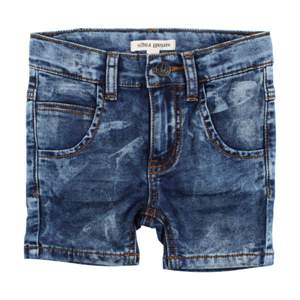 SMALL RAGS SHORTS DRENG - DENIM