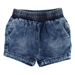 SMALL RAGS SHORTS - DENIM