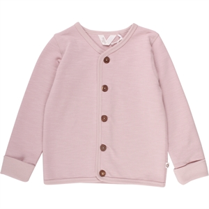 MÜSLI SLUB SWEAT CARDIGAN ROSA