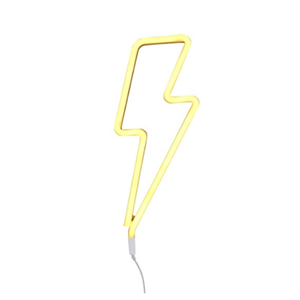 A LITTLE LOVELY COMPANY LIGHTNING BOLT YELLOW