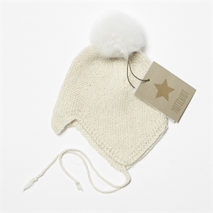 HUTTELIHUT BABY HUE BOLIVIAN KNIT (OFF WHITE)