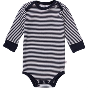 MüSLI BODY LANGÆRMET STRIBET NAVY