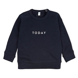 ORGANIC ZOO SWEATSHIRT TODAY NAVY