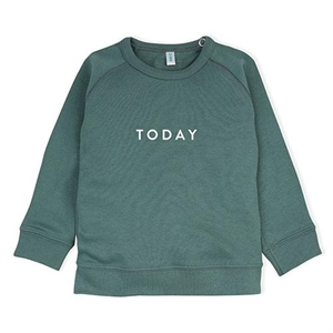 ORGANIC ZOO SWEATSHIRT TODAY GREEN