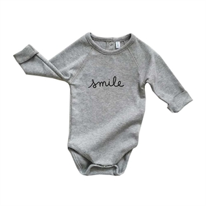 ORGANIC ZOO BODY SMILE GREY
