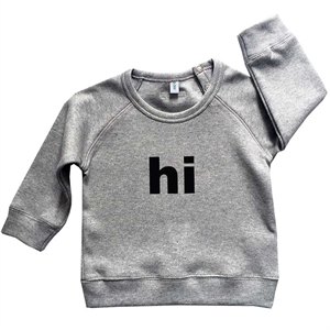 ORGANIC ZOO SWEATSHIRT HI GREY
