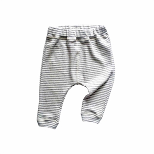 ORGANIC ZOO PANTS STRIPES (GREY)