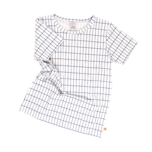 TINYCOTTONS GRID T-SHIRT